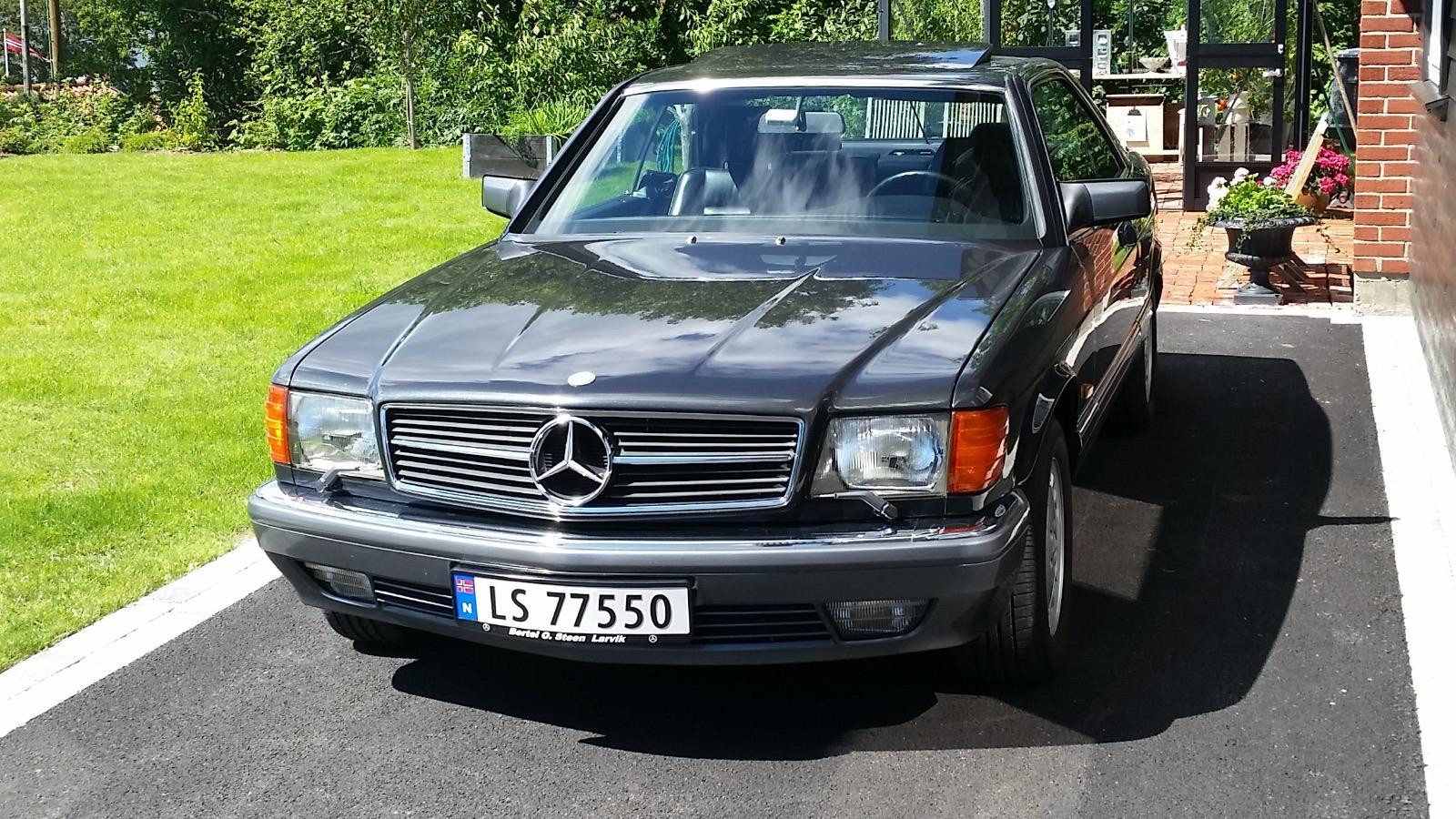 Ukas bil - 1990 Mercedes-Benz 560 SEC