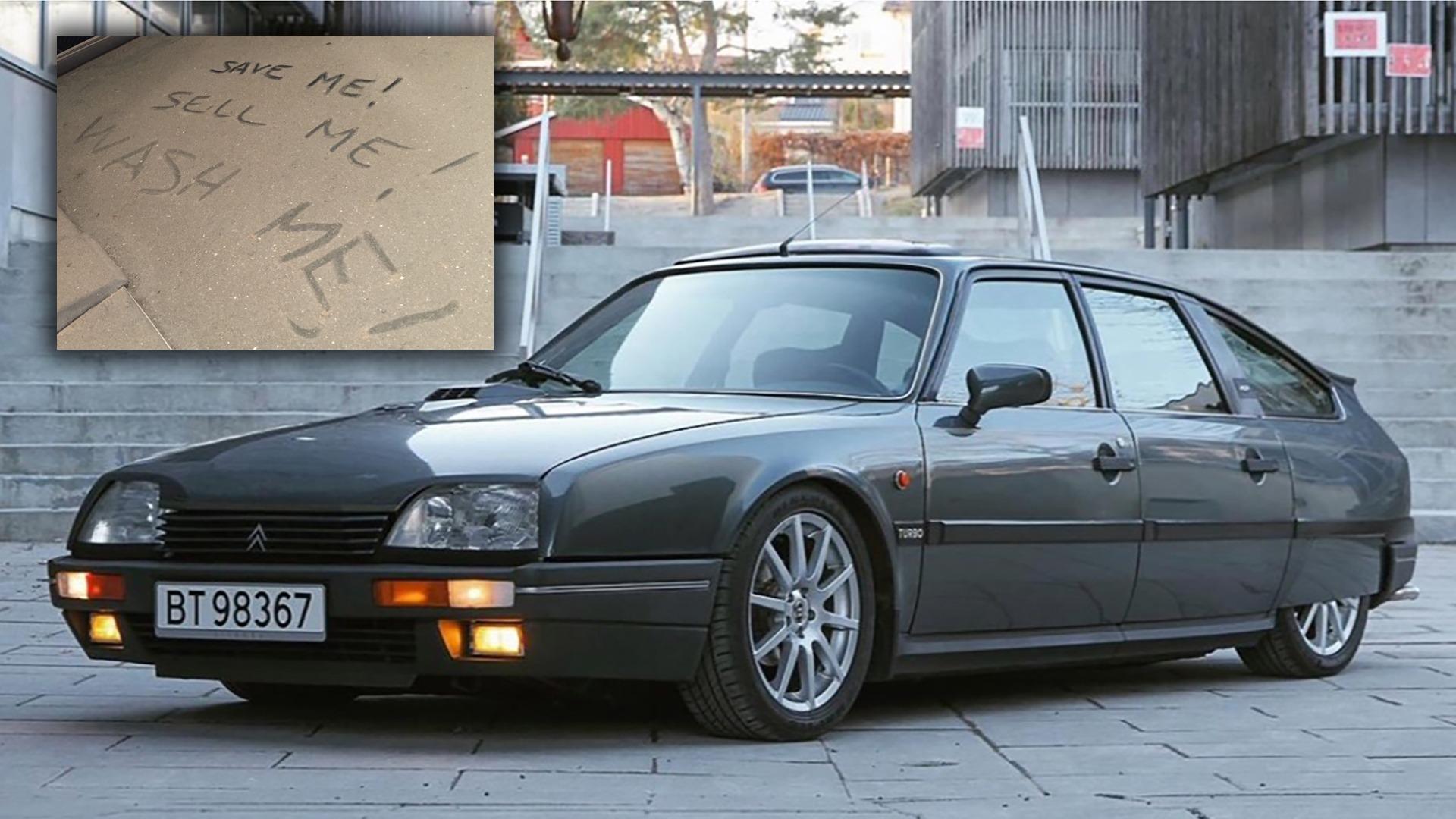 Ukas bil – Yankee CXen/Låvebilen – 1986 Citroën CX 25 GTI Turbo