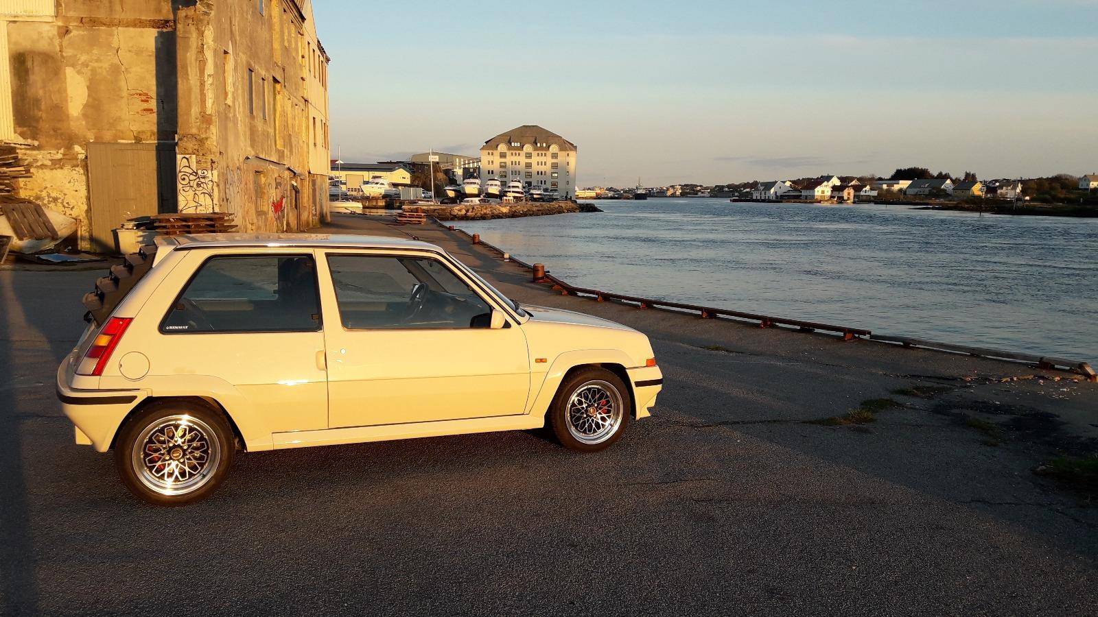 Renault 5 har et utrolig karakteristisk utseende.