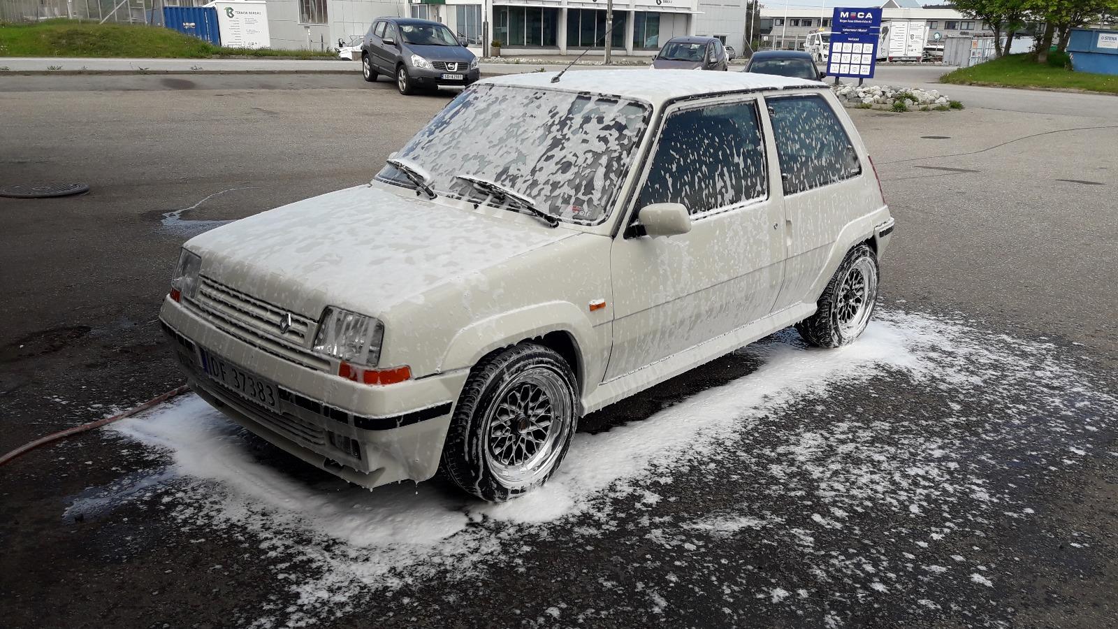 Ingenting er som nyvasket selvbygd bil!