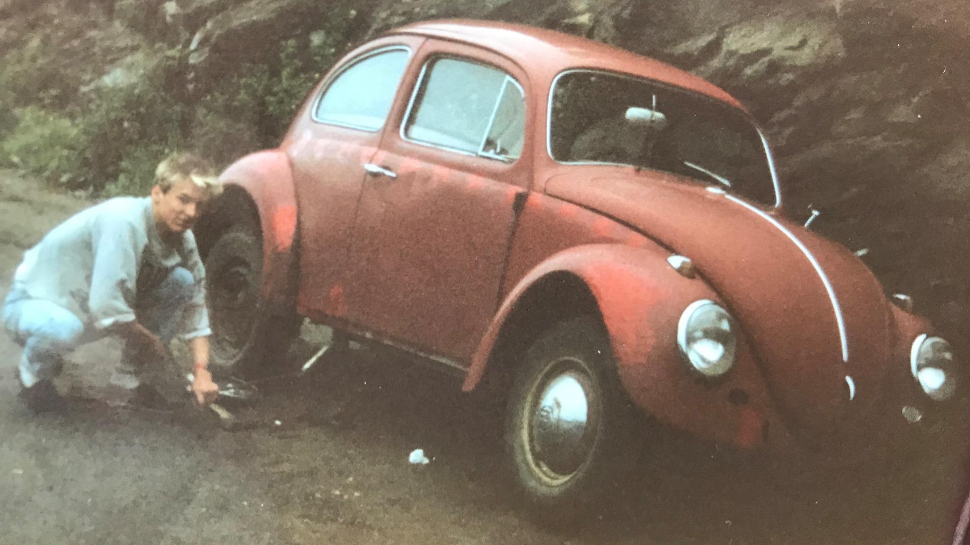Tom var tidlig interessert i Volkswagen