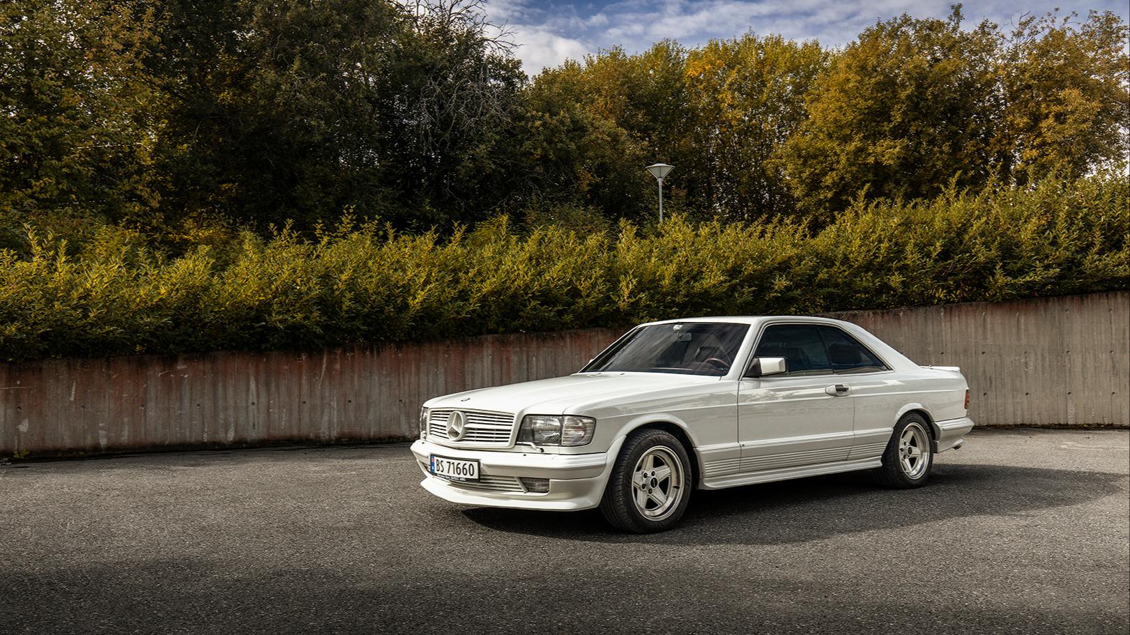 Mercedes Benz 500SEC