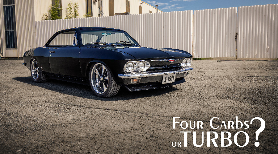 """Four carbs or turbo?"" - 1965 Chevrolet Corvair Corsa"
