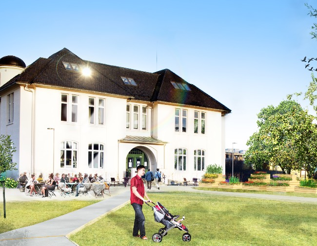 Finnes Barnehjem får en ny kafé