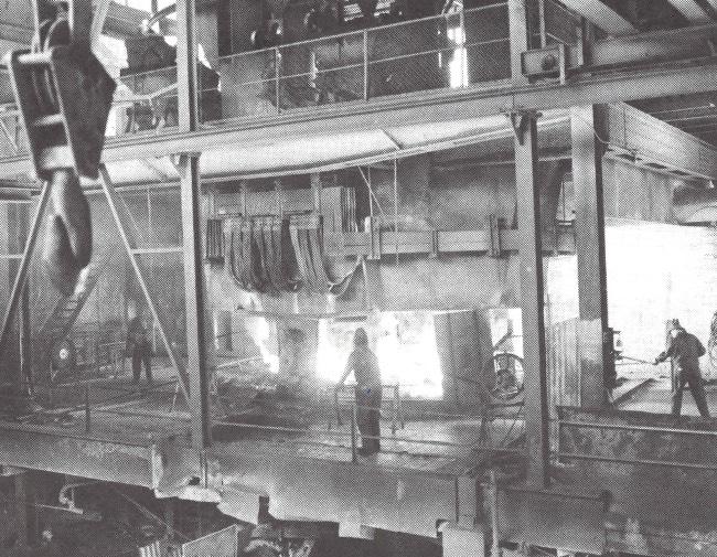 Smelteovn på Lilleby Smelteverk