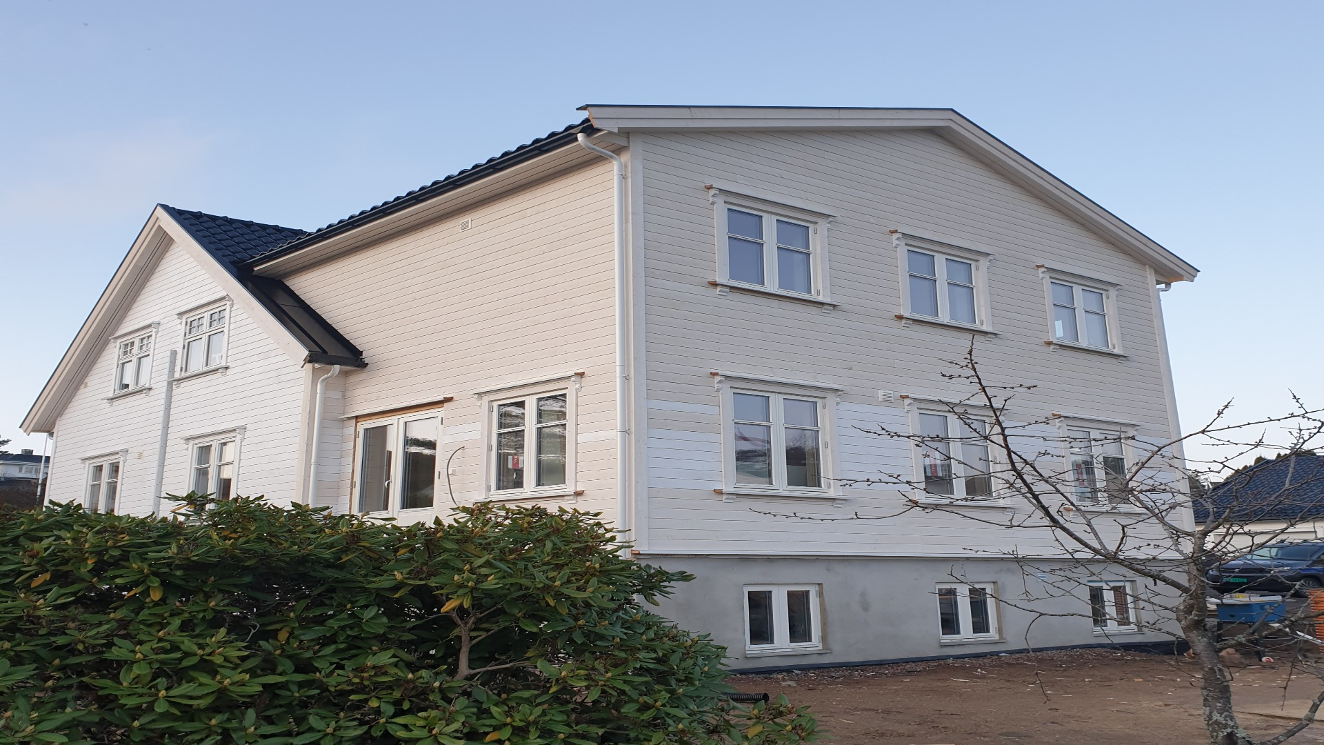 Tilbygg på eksisterende bolig