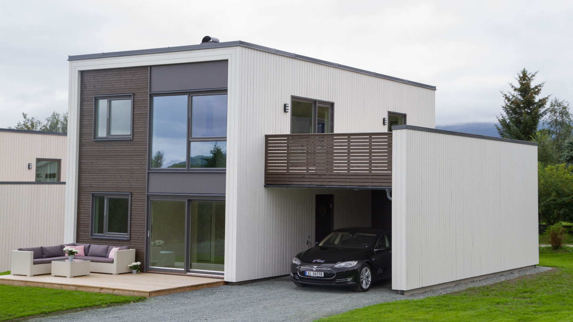 En ryddig og stilfull fasade