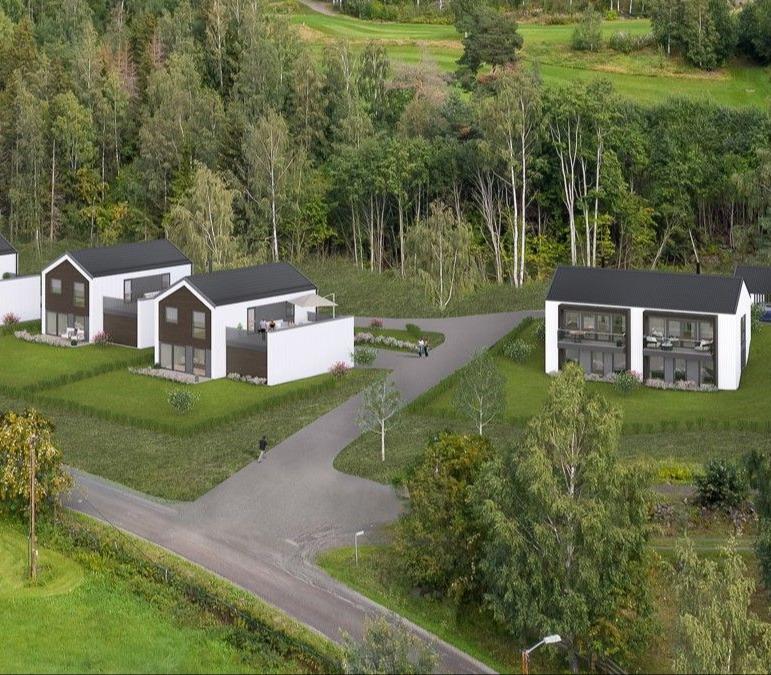 Øyer, Engemark - moderne og effektive boliger bygges for salg