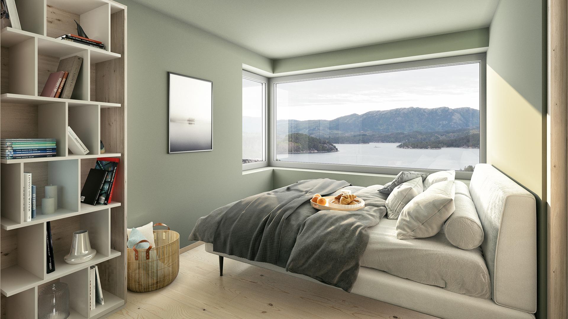 Tenkt deg å våkne til denne utsikten