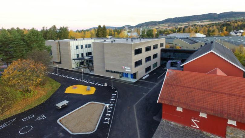 Moelv skole (1.-10.) sto ferdig i 2017