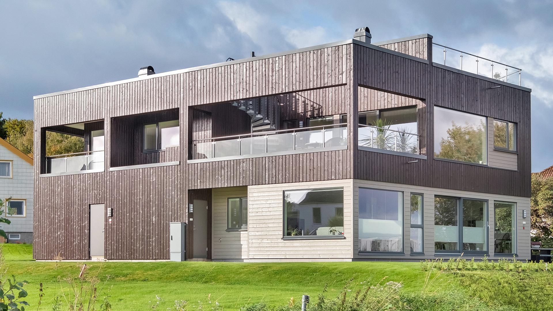 Denne stilige boligen har vi bygd på Ranheim