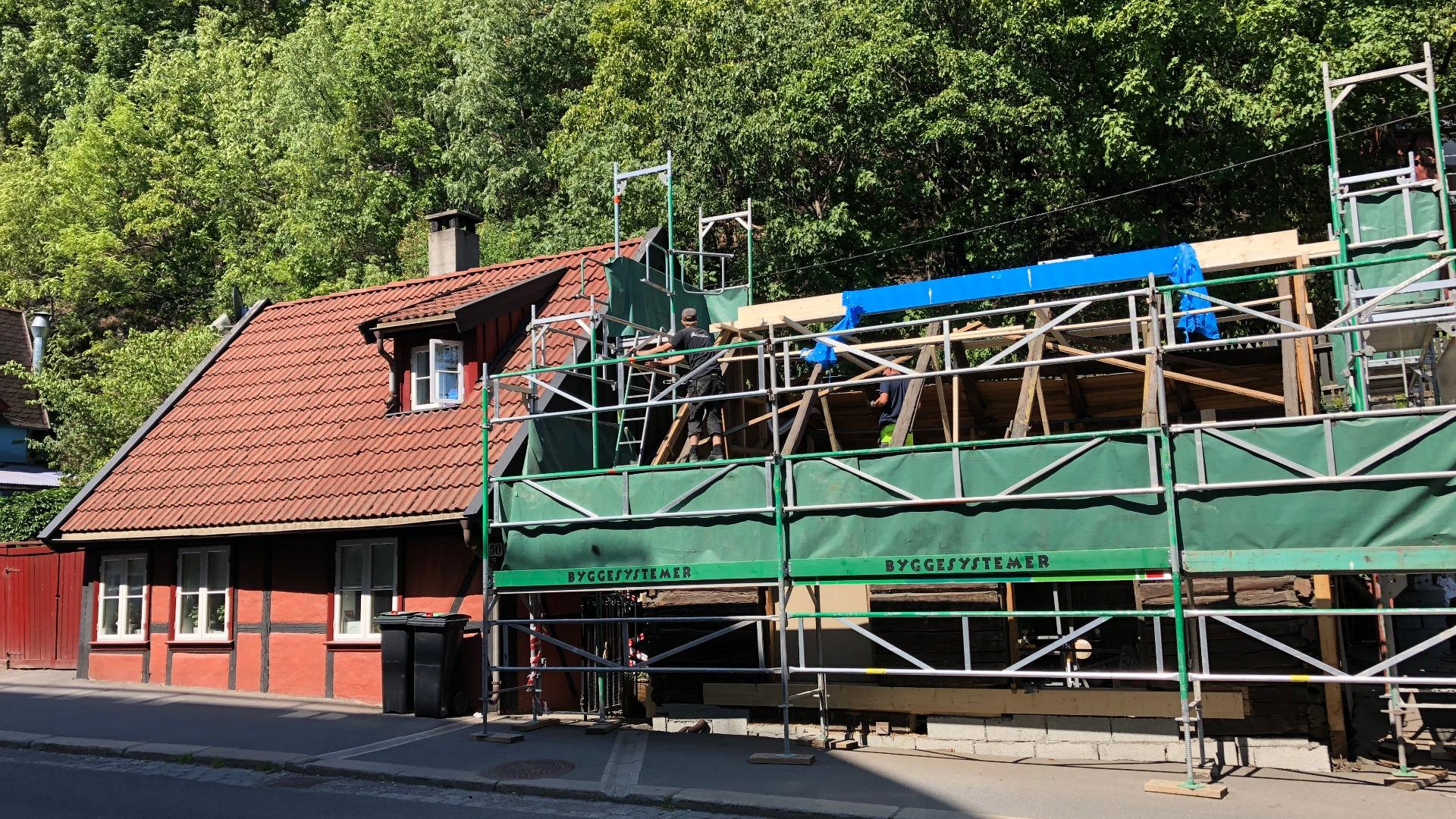 Totalrehabilitering av vernet bolig på Fredensborg i Oslo.