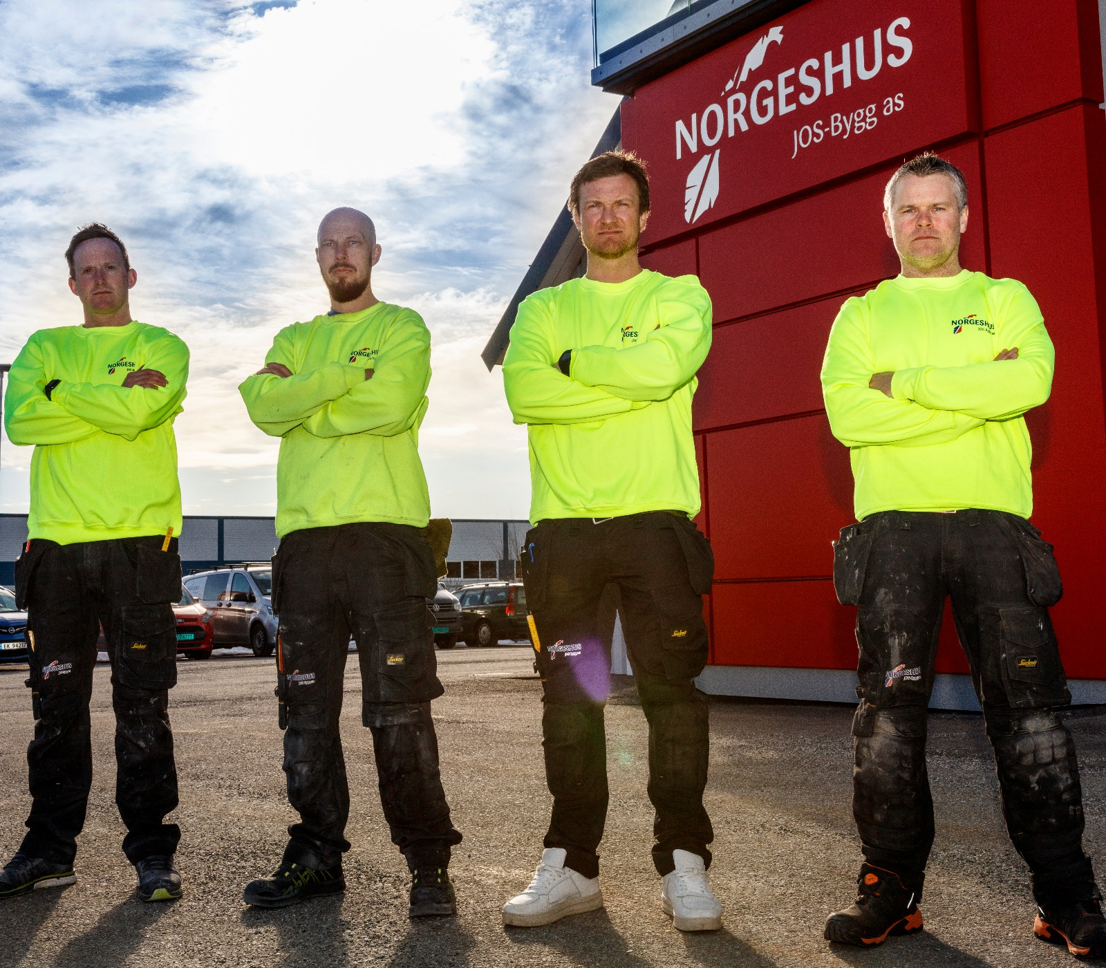 Er du vår nye tømrer?