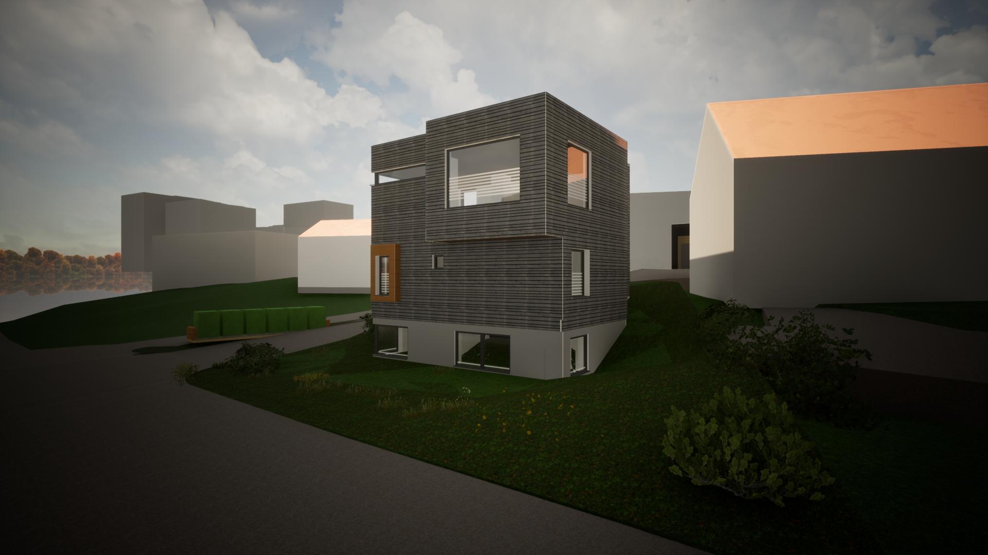 Moderne prosjektert enebolig på Nidarvoll (SOLGT)