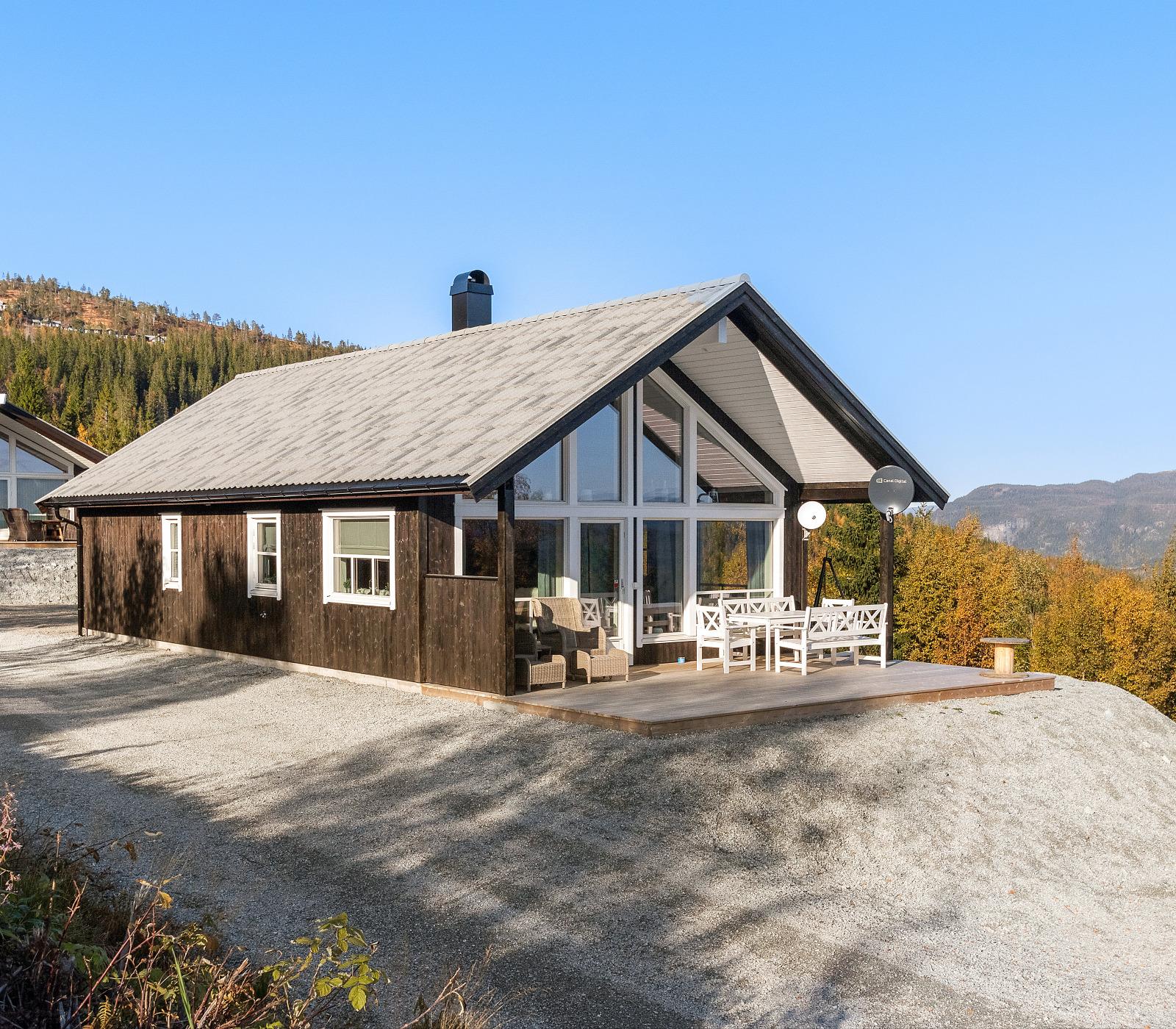 Bygge hus eller hytte