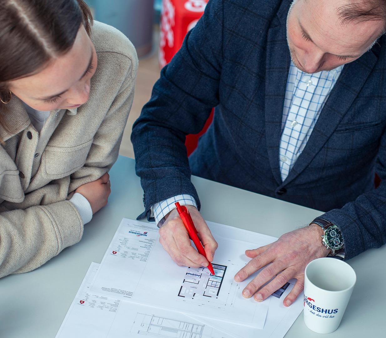Våre arkitekter tegner huset du drømmer om.