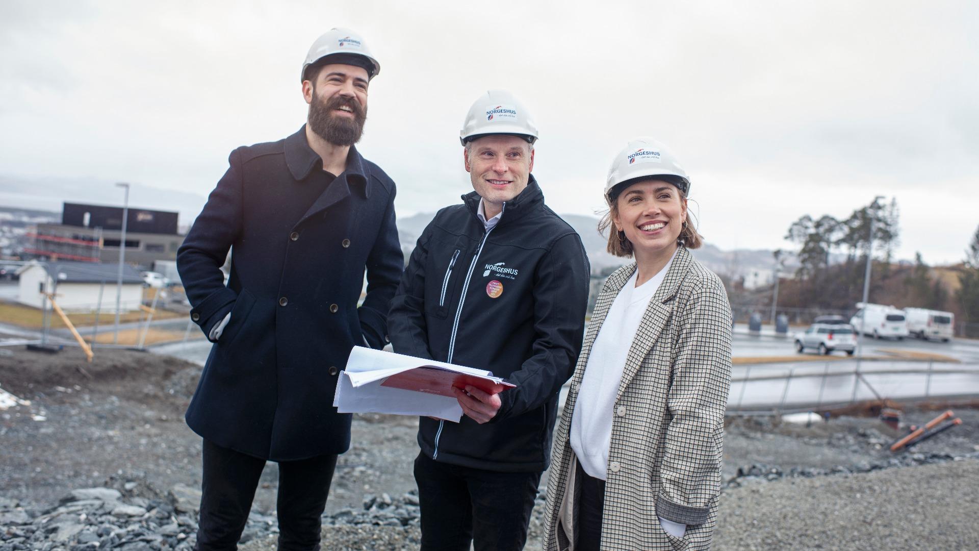 I 2019 hadde Norgeshus de mest fornøyde boligkundene i landet. Vi følger deg tett gjennom hele prosessen.