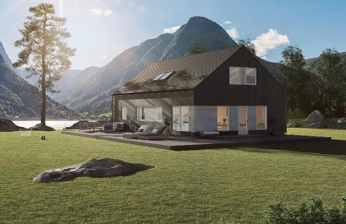 Lundås Moderne er en bolig med stort potensiale