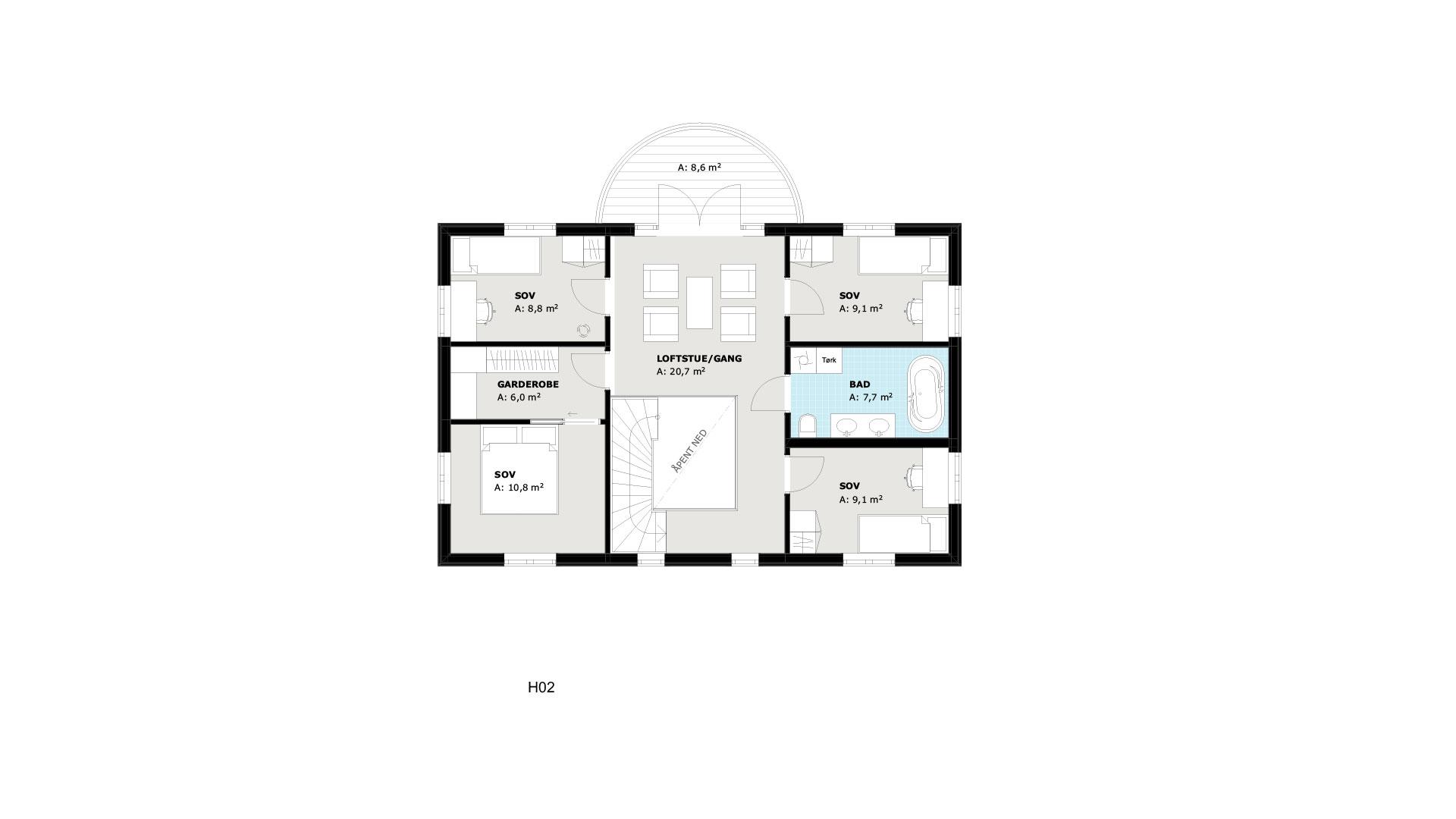 2.etasje Arv