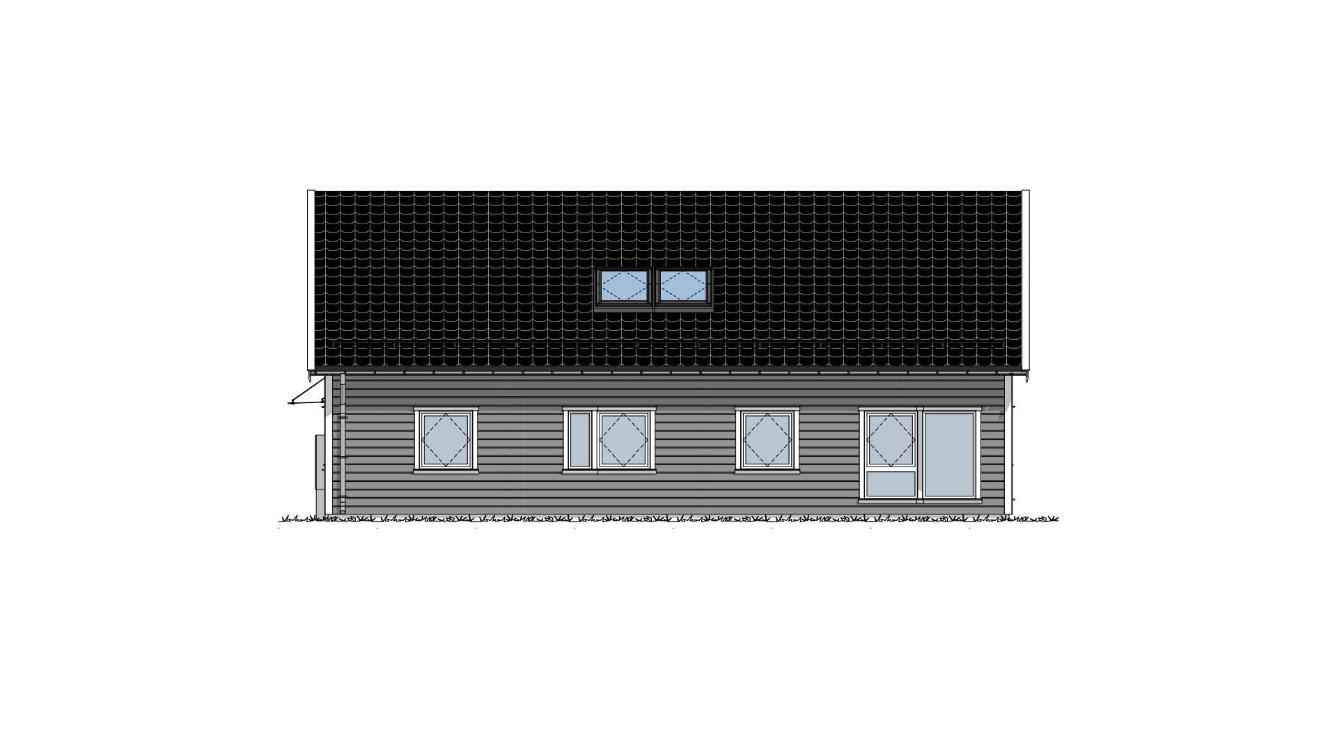 Lundås Tradisjon fasade 3