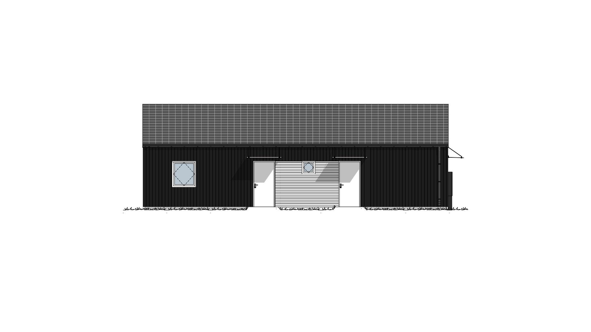 Fasade 1 Lund Moderne