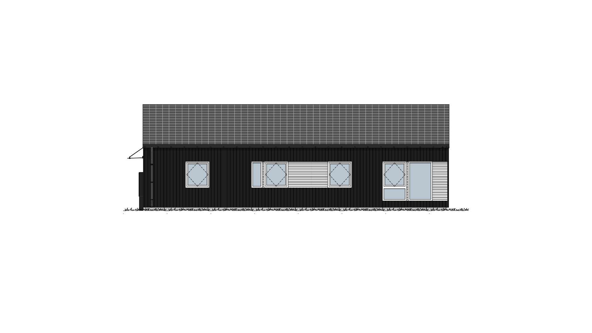 Fasade 3 Lund Moderne