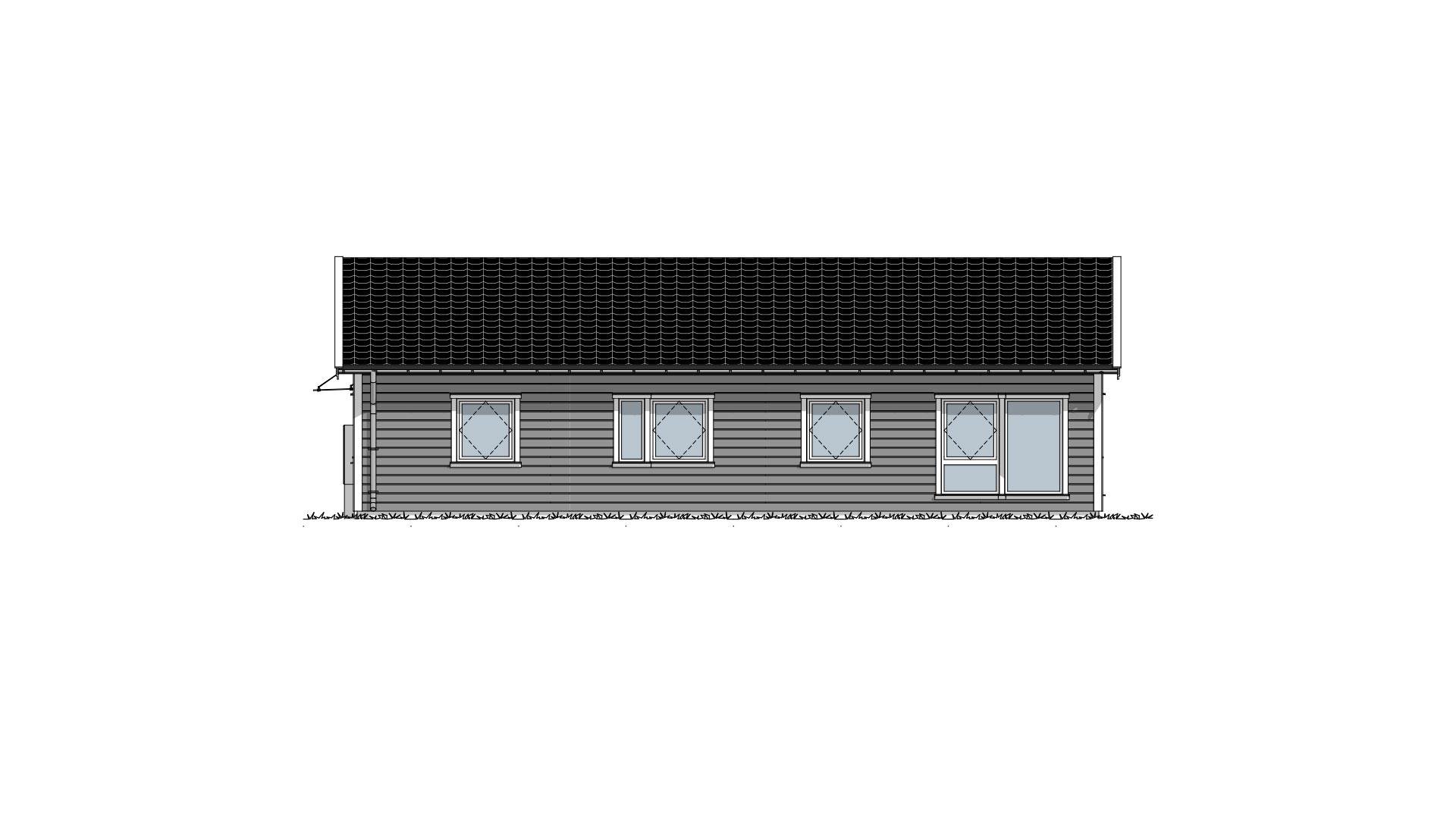 Fasade 3 Lund Tradisjon