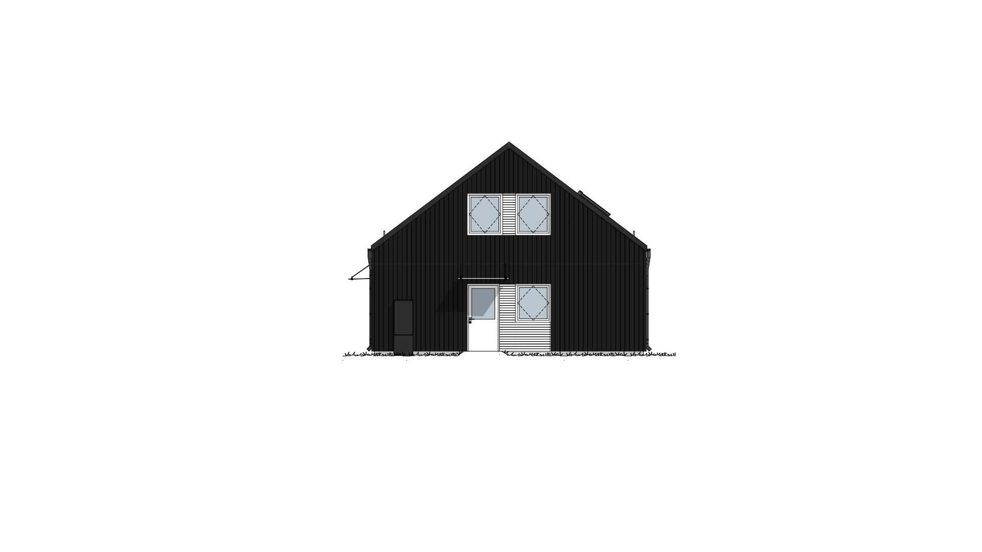 Fasade 4 Lundås Moderne