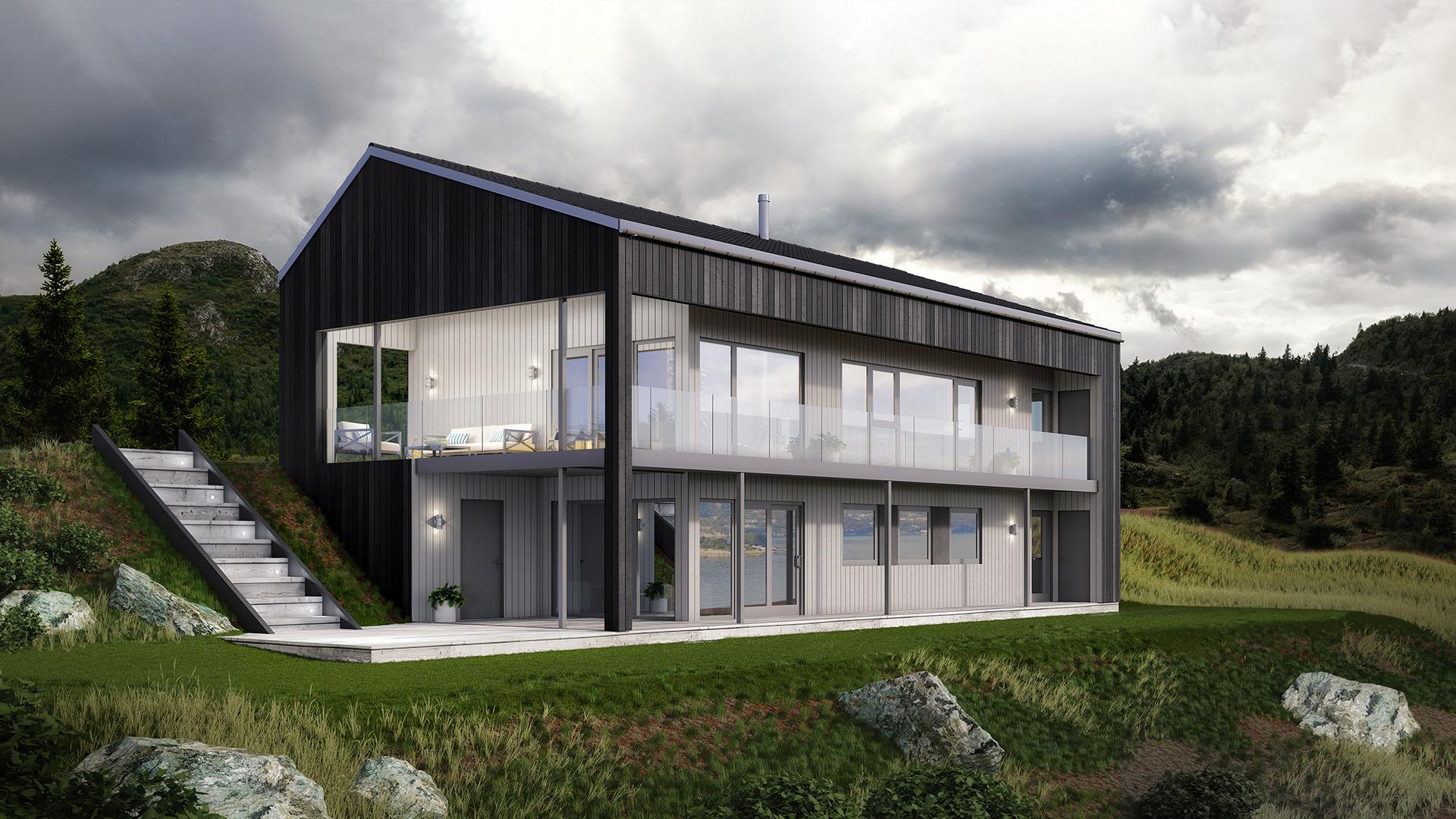 Norgeshus | Kneppen