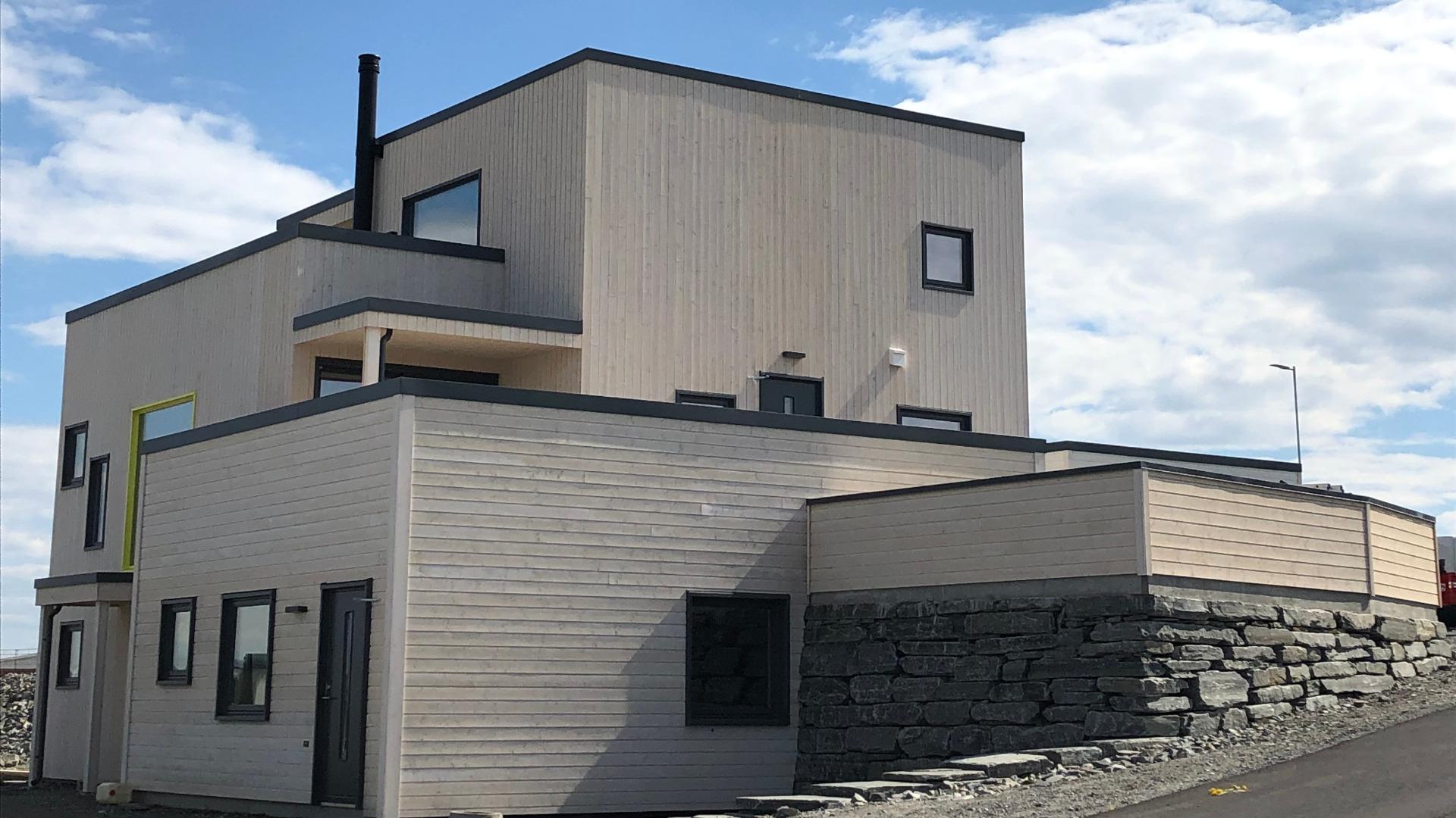 Med enkle endringer kan du få til en utleieenhet i denne boligen.
