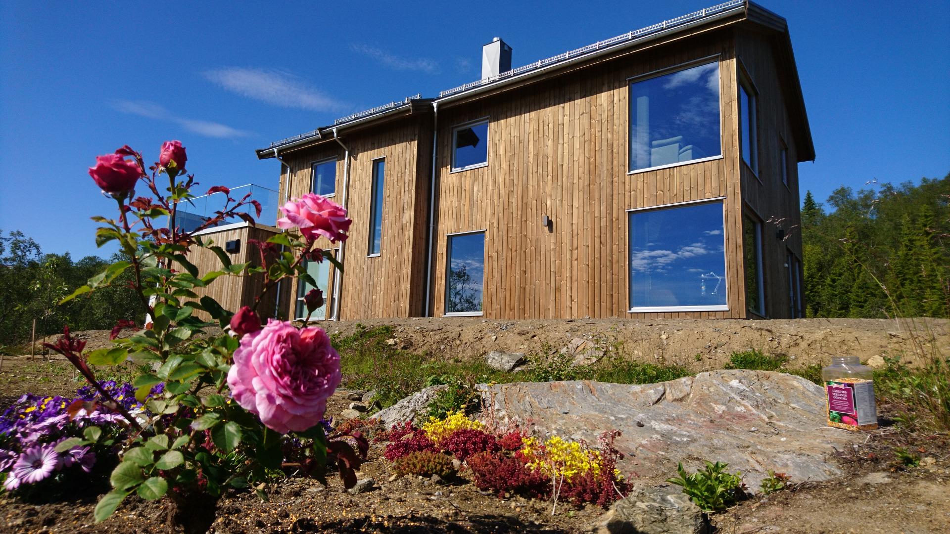 Revidert Nupen bygd i Troms