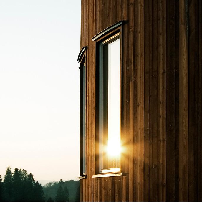 Et spennende hus med fleksibel planløsning