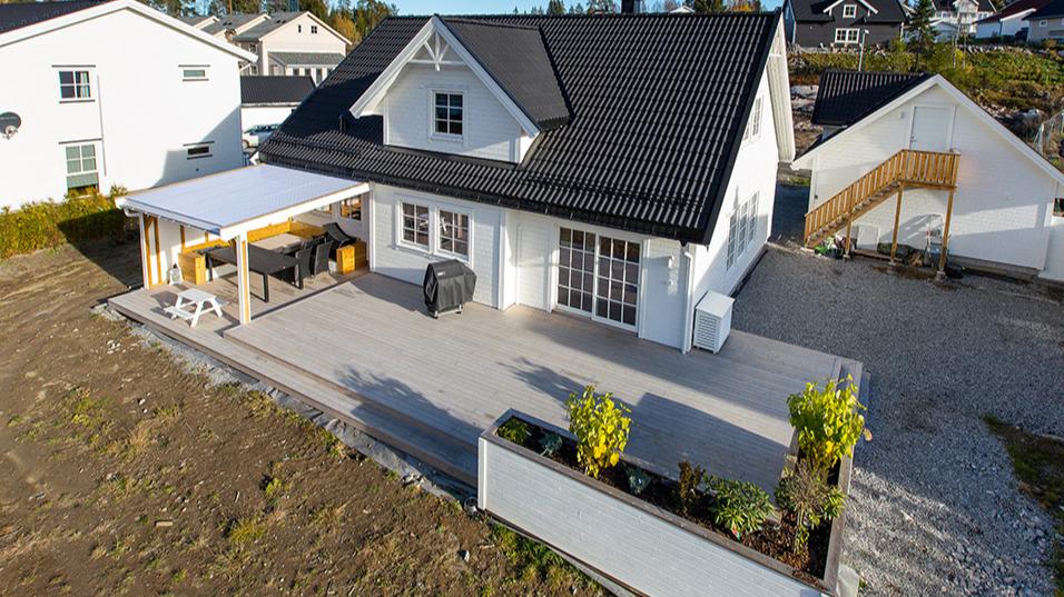 Stor platting bygget på Vågsund