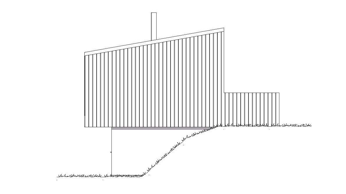 Fasade Hovden