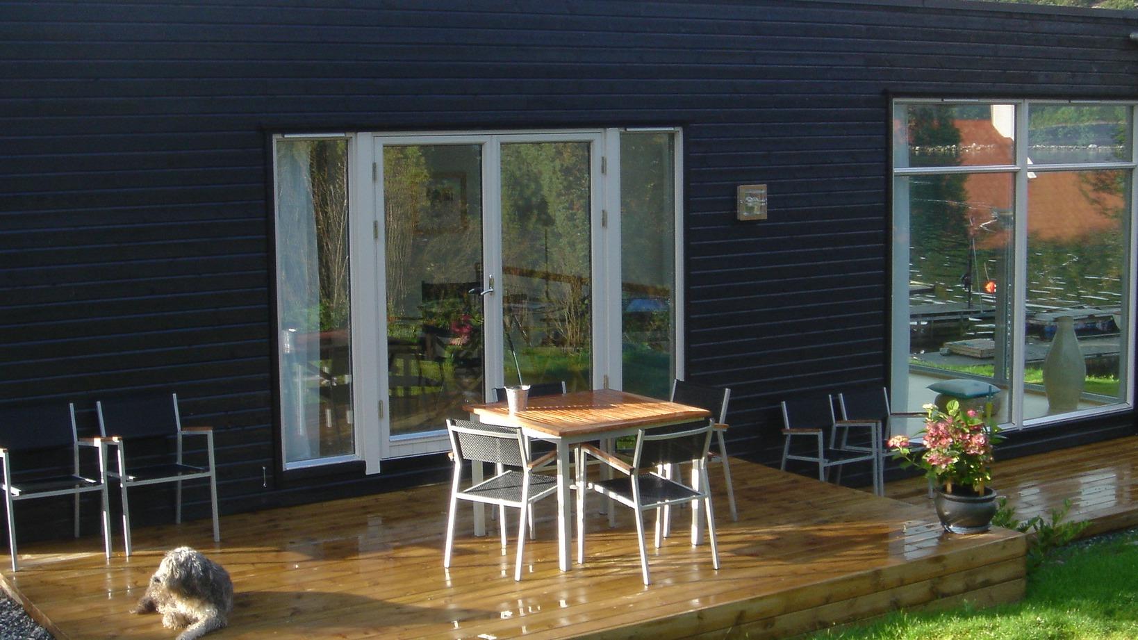 Utvid stue og kjøkken med enkle grep på varme dager