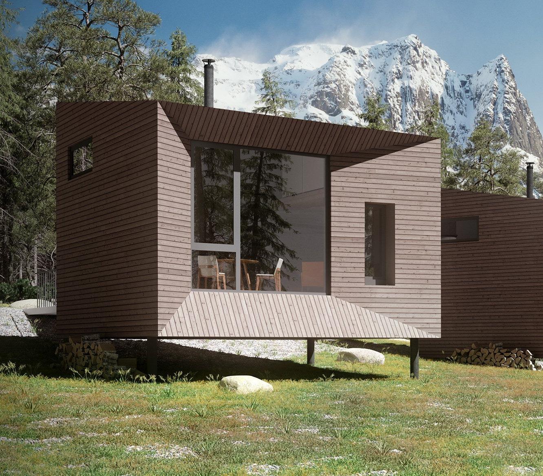 På tross av sin beskjedne grunnflate så rommer denne hytta mer enn du tror, og har alt du forventer av ei hytte.