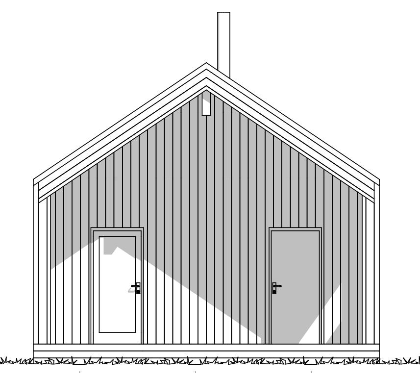Inngangsparti Fjellvang Moderne