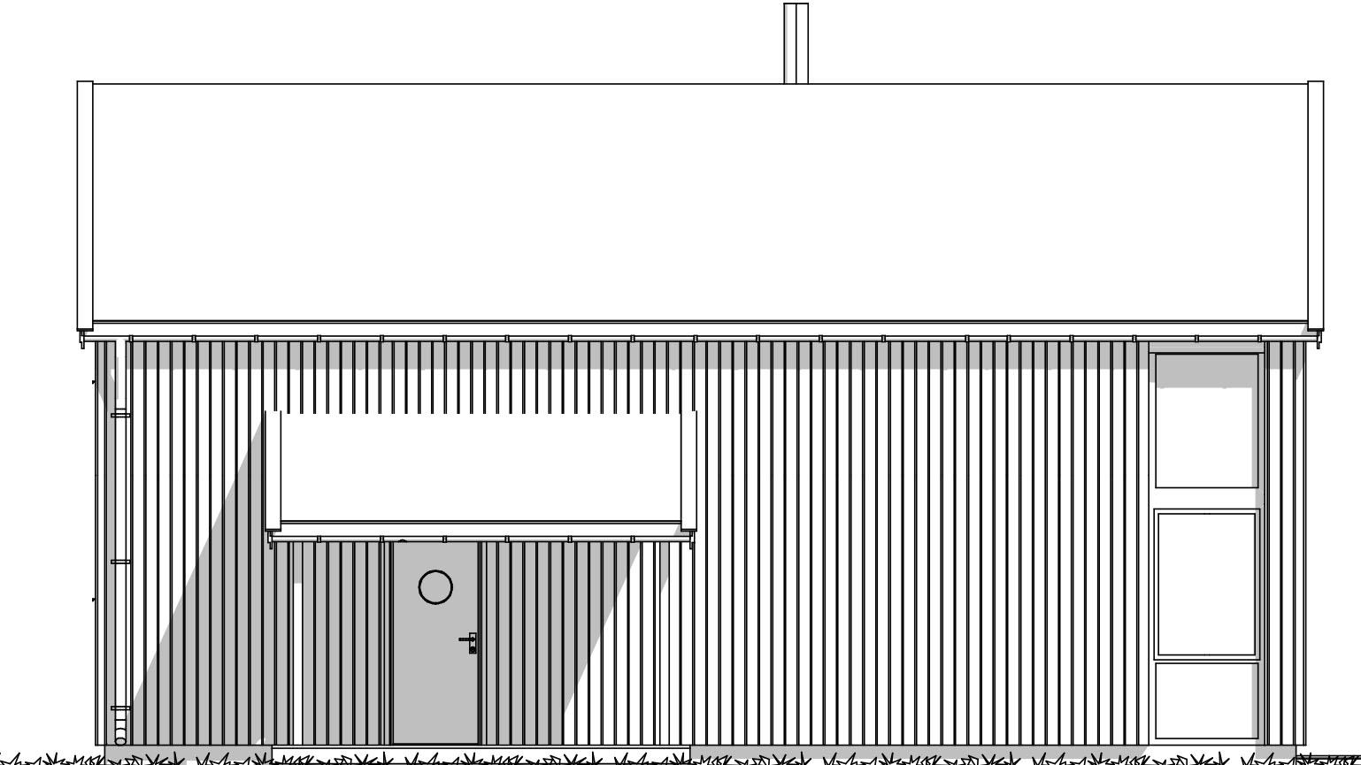 Fasade Rorbu