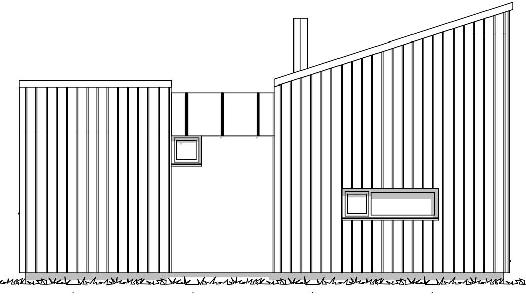 Fasade Tinn moderne