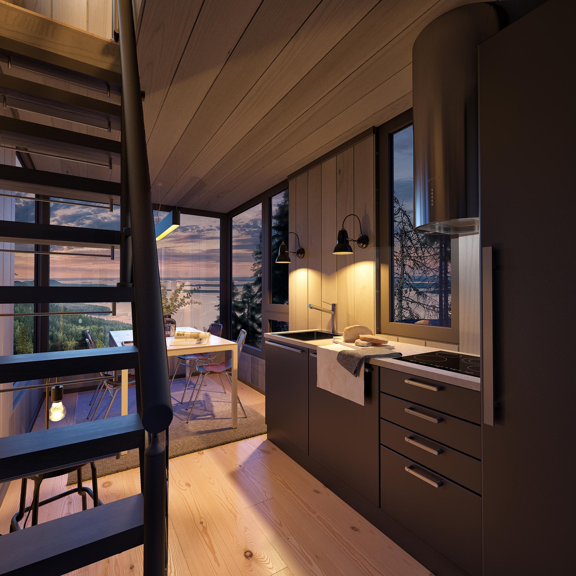 Utsikten Kjøkken