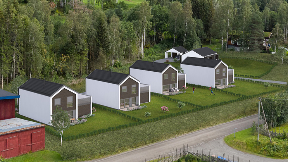 Øyer, Engemark - moderne og effektive boliger bygges