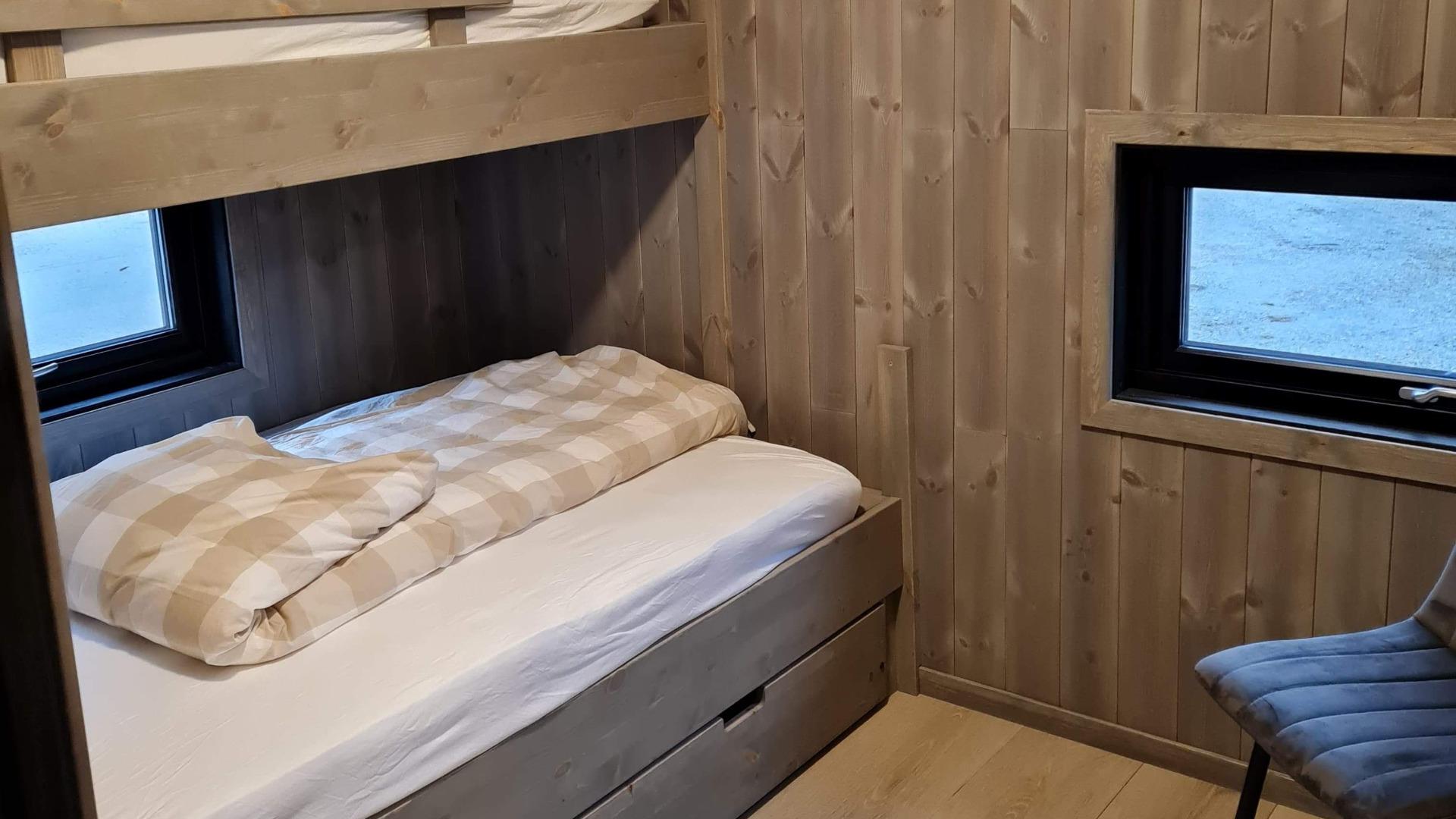 Soverom 2, oppgradert hytte