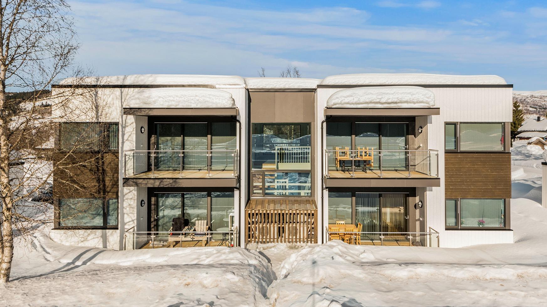 Kvartett i Rindal - Årets Småhusprosjekt 2018