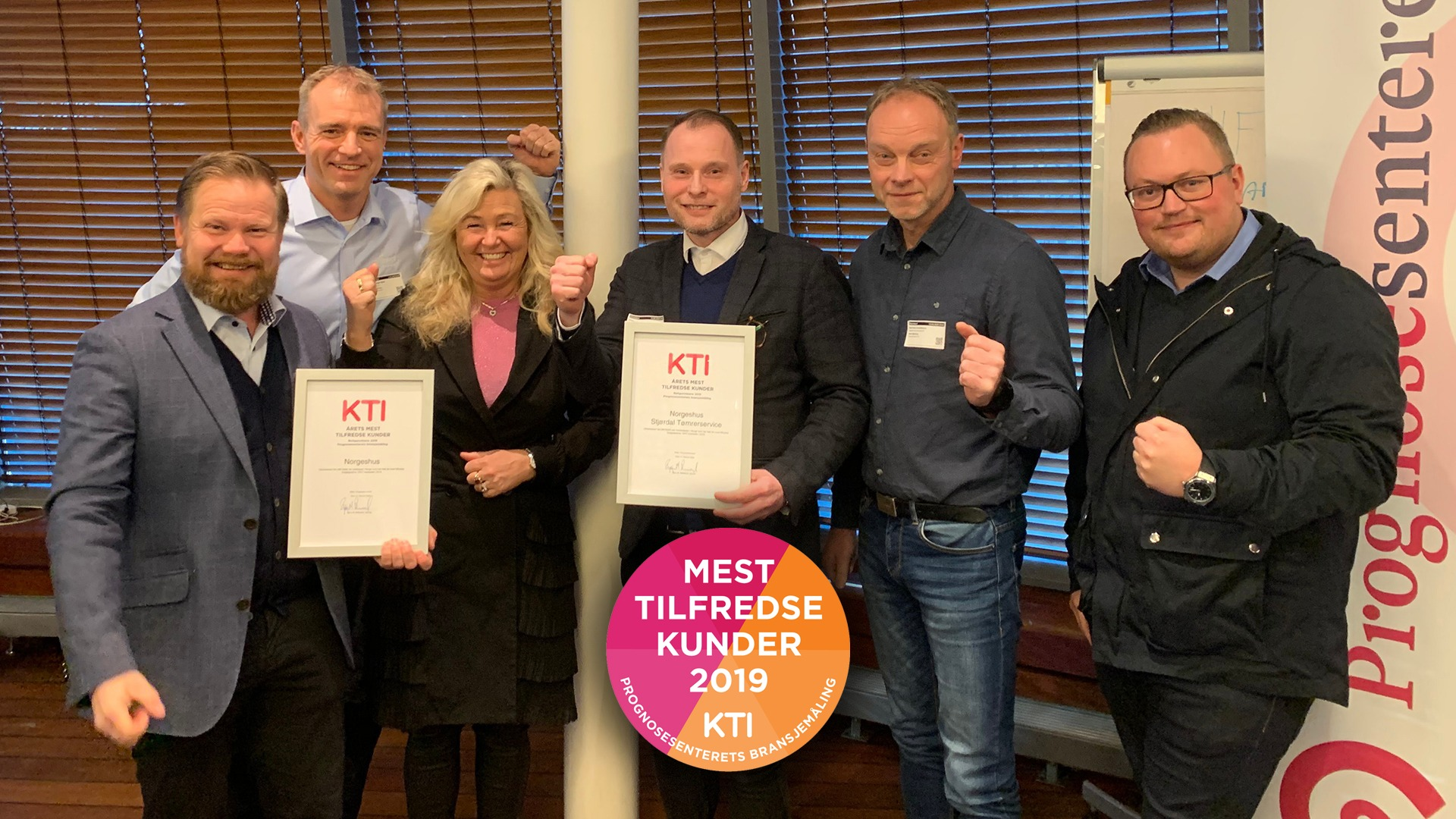 f.v: Frode Holm, Benn Asgeir Båtvik, Kjellrun Båtvik Hagensli, Anders Teigen, Rolf Arne Kristoffersen, Casper Arntzen