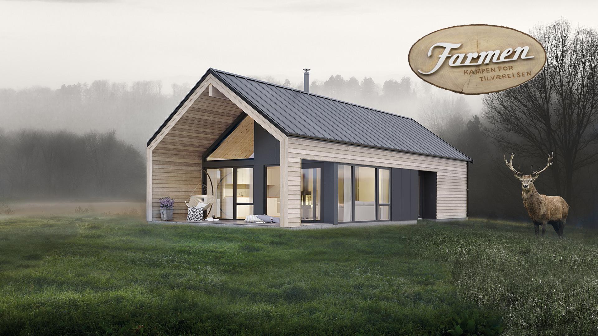 Farmen-hytta 2019, Koia Moderne