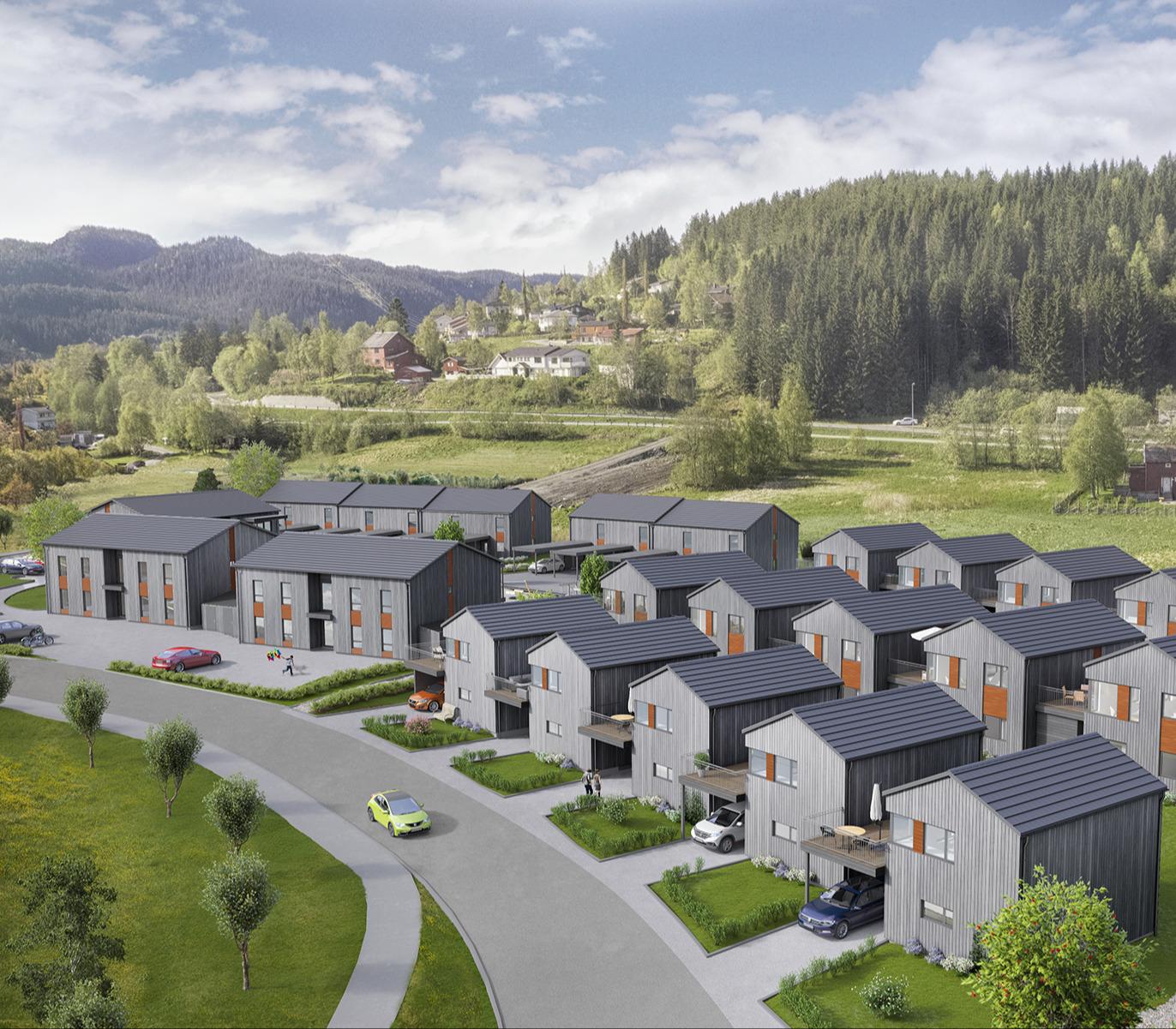 Nye boliger i Klæbu