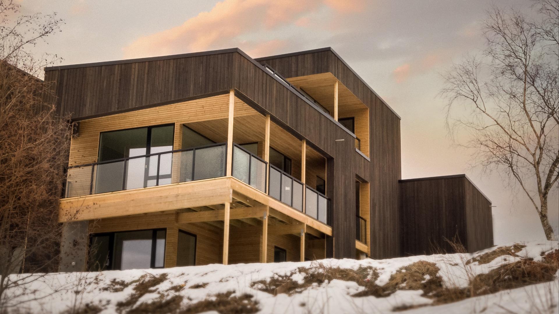 Bygge hus i Malvik- og Trondheimsområdet