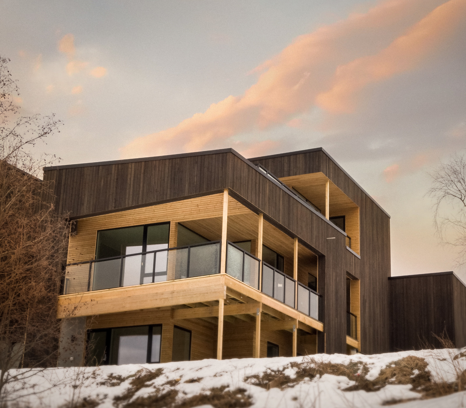 Hus bygget i Trondheim