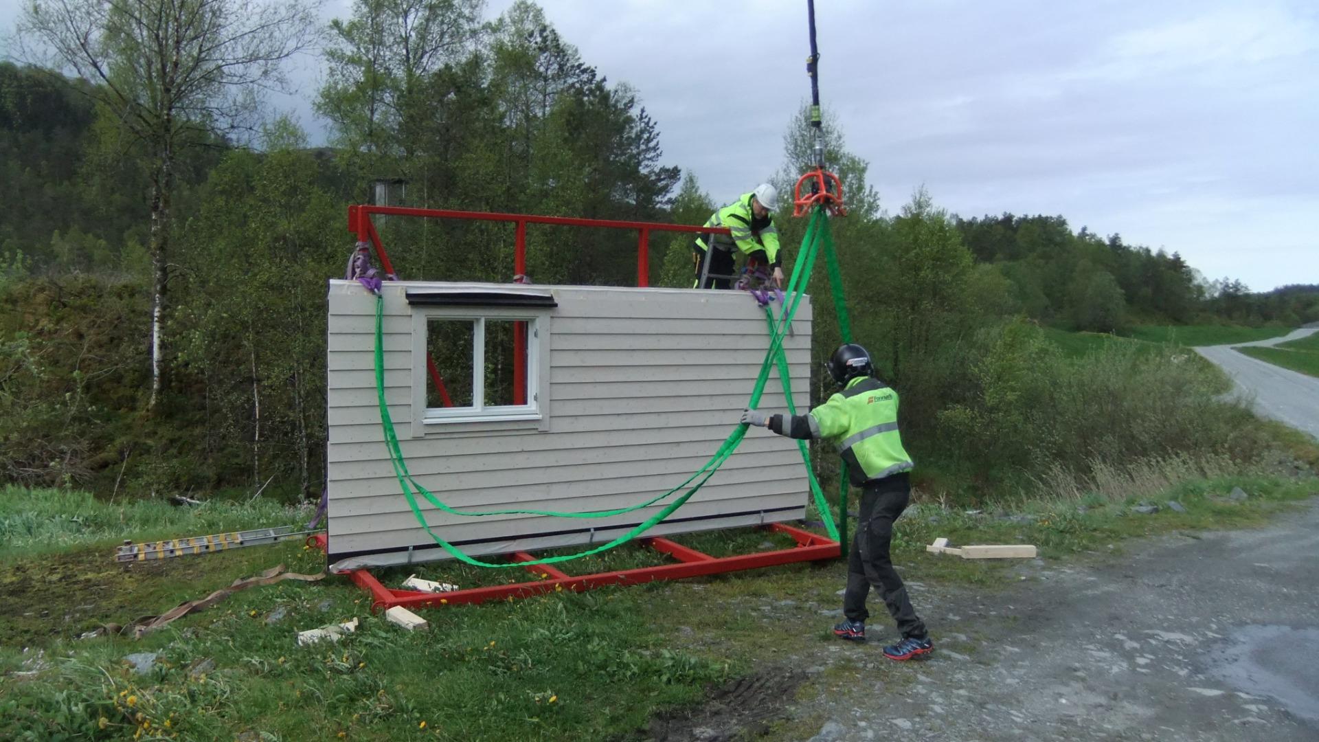 Bygge hytte på fjellet?