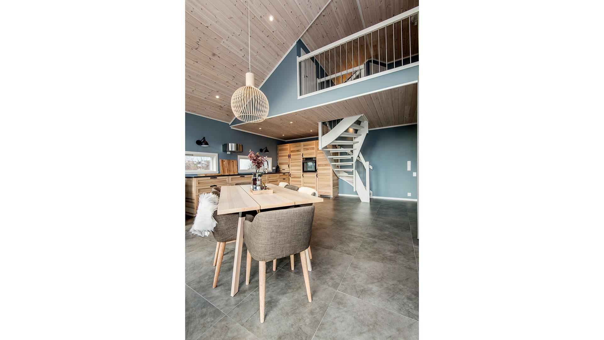 Arkitektegnet hytte på Moster